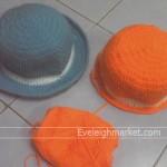 ถักหมวกไหมพรมโครเชต์แพทเทิร์นไม่ยากถักง่ายเป็นรายได้เสริม